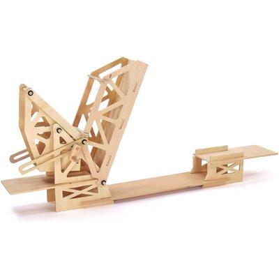 Pathfinders Strauss Bascule Bridge Educational Wood Kit - 26732