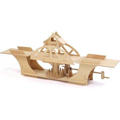 Pathfinders Swing Bridge Educational Wood Kit - 26730