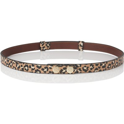 Zahara Animal Print Leather Belt
