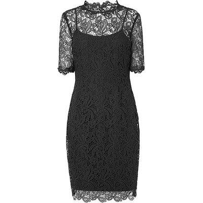 Sasha Black Lace Dress, Black
