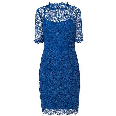 Sasha Blue Lace Dress, Imperial Blue