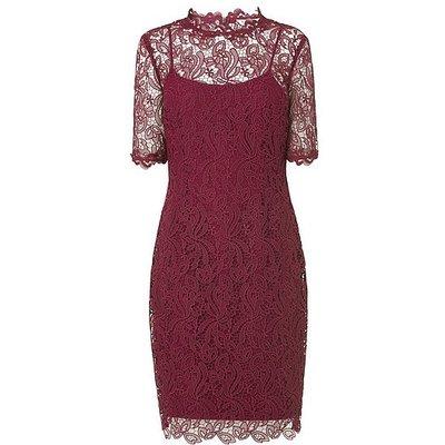 Sasha Ruby Lace Dress, Ruby
