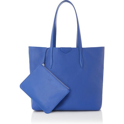 Peggy Blue Italian Leather Tote Bag