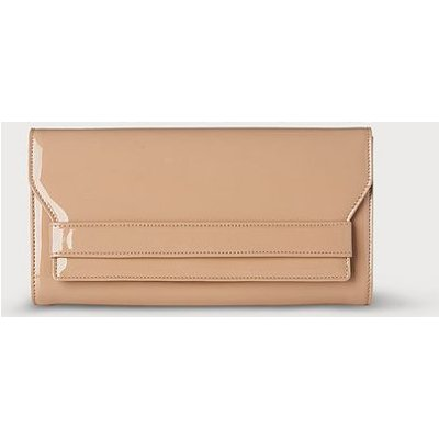 Ella Trench Patent Clutch