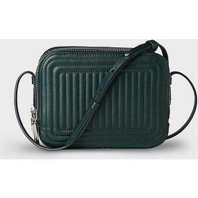 Mariel Green Leather Shoulder Bag