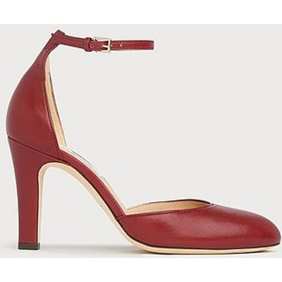 Xandra Burgundy Leather Courts
