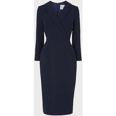 Effie Navy Shift Dress, Midnight