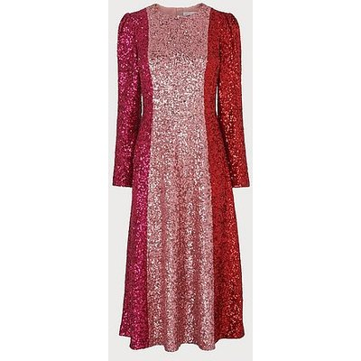 Fitzgeral Multi Sequin Dress, Multi