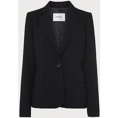 Frieda Black Crepe Jacket, Black