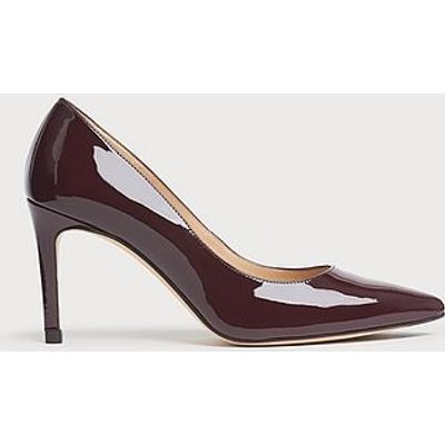 Floret Oxblood Patent Pointed Toe Courts