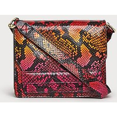 Emma Firecracker Snake Effect Shoulder Bag