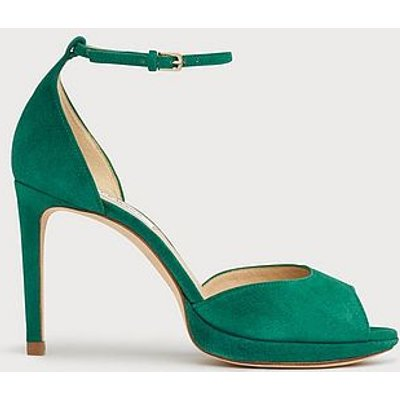 Joyce Green Suede Sandals