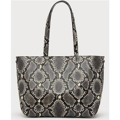 Evie Snake Print Tote Bag, Snake Print