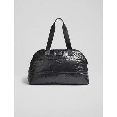 Pam Black Nylon  Weekend Bag, Black