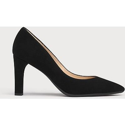 Tess Black Suede Courts