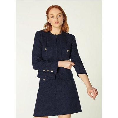 Highbury Navy Tweed Jacket, Midnight