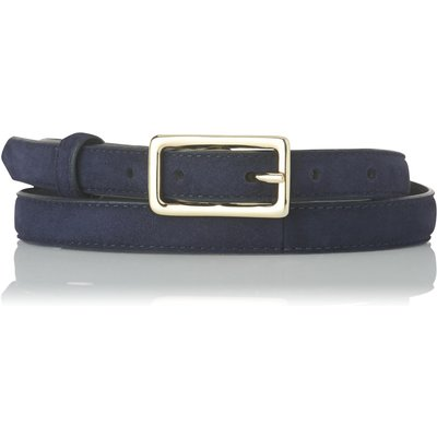 Glenda Navy Suede Belt