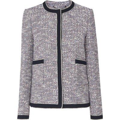 Clarie Blue Cotton Jacket