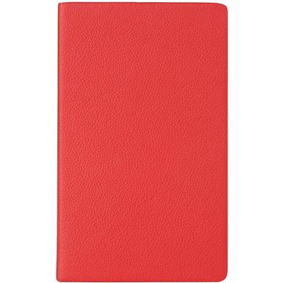 Ingrid Red Leather Notebook