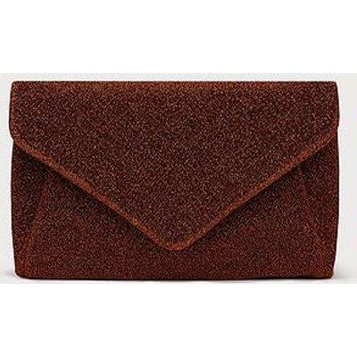 Lorna Bronze Clutch Bag, Bronze