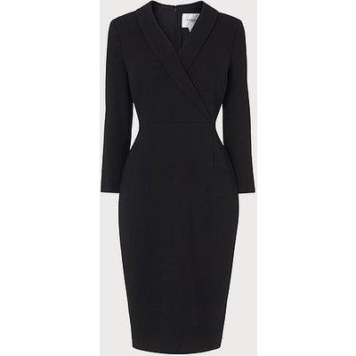 Effie Black Shift Dress, Black