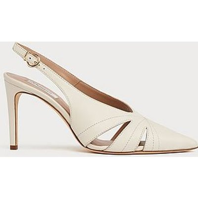 Helena White Leather Courts, Off White