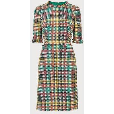 Bonnie Colourful Tweed Dress, Multi