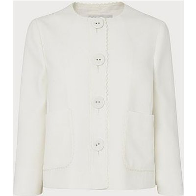 Millie Cream Jacket, Cream