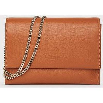 Marcella Tan Leather Shoulder Bag, Tan