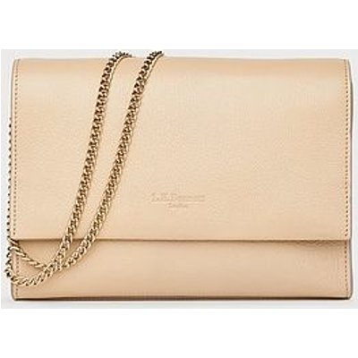 Marcella Taupe Leather Shoulder Bag, Taupe