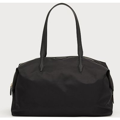 Marley Black Nylon Weekend Bag, Black