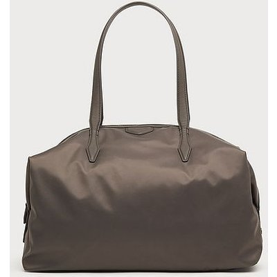 Marley Grey Nylon Weekend Bag, Grey