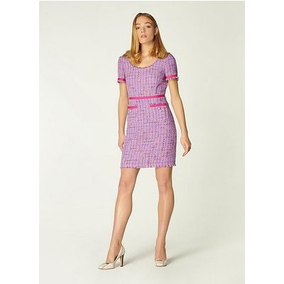 Albers Lilac Tweed Shift Dress, Lilac