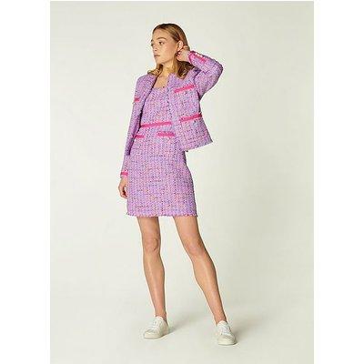 Albers Lilac Tweed Jacket, Lilac
