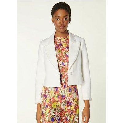 Ellen Cream Tweed Jacket, Cream