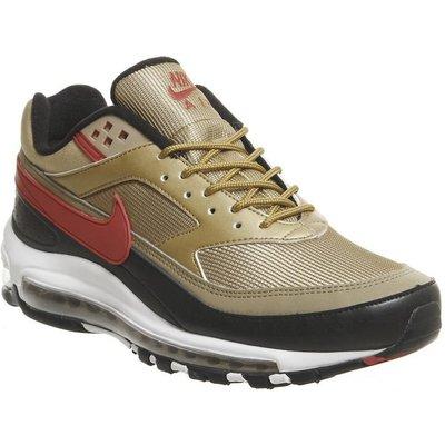 Nike Air Max 97/bw METALLIC GOLD RED,Red,Black,Multi