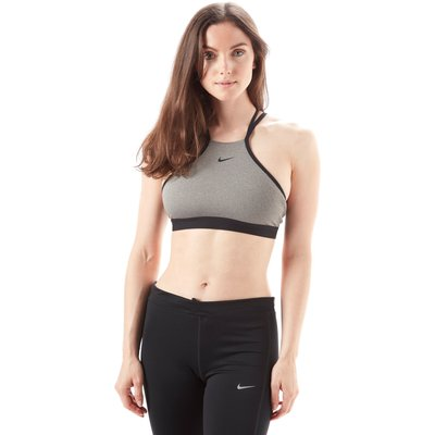 Womens Grey Nike Indy Modern Training Bra