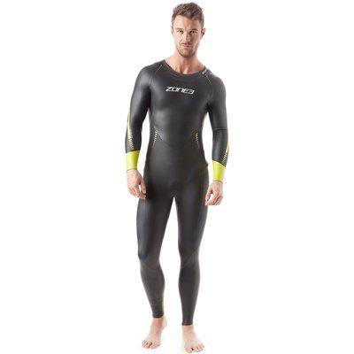 Mens Black Zone3 Advance Triathlon Wetsuit