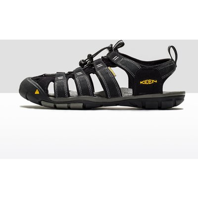Men's Keen Clearwater CNX Leather Sandals - Black, Black