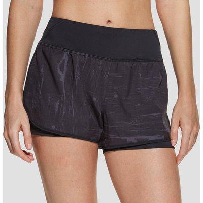 Women's Beachbody Flex 2-in-1 Shorts - Black, Black