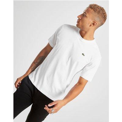 Lacoste Plain Crew T-Shirt - Weiss - Mens, Weiss