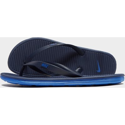 NIKE Nike Solarsoft II Flip-Flops - Midnight Navy/Racer Blue - Mens, Midnight Navy/Racer Blue