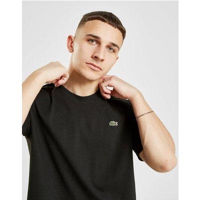 Lacoste Plain Crew T-Shirt - Schwarz - Mens, Schwarz