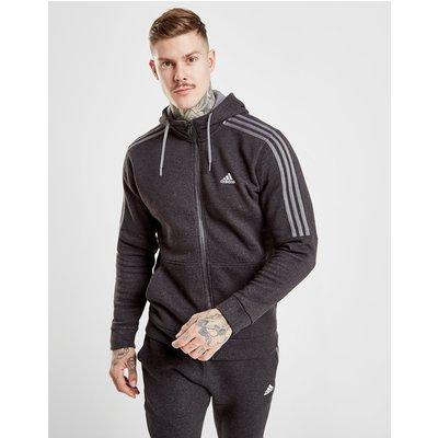 Sweatshirt & Hoodie im Sale - adidas Essential Hoodie mit durchgehendem RV  - Only at JD - Schwarz - Mens, Schwarz