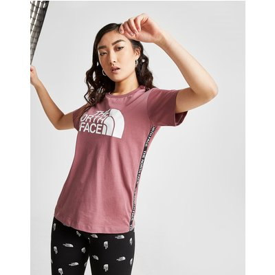 THE NORTH FACE The North Face Tape Side Boyfriend T-Shirt Damen  - Only at JD - Pink - Womens, Pink