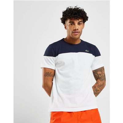 LACOSTE Lacoste Upper Panel T-Shirt Herren - Only at JD - Weiss - Mens, Weiss