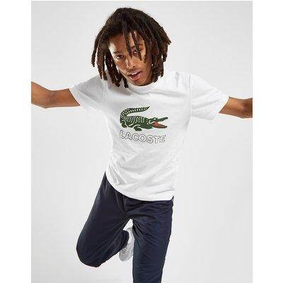LACOSTE Lacoste Logo Vintage T-Shirt Herren - Weiss - Mens, Weiss