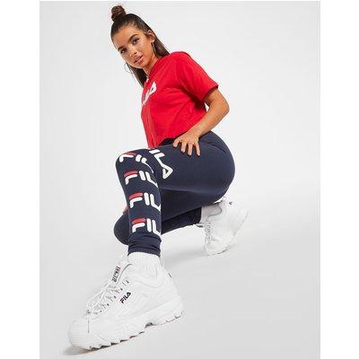 FILA Fila Repeat Logo Leggings - Only at JD - Blau - Womens, Blau
