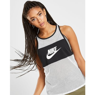 NIKE Nike Colour Block Mesh Tank Top - Only at JD - Weiss - Womens, Weiss