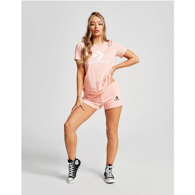 CONVERSE Converse Chevron Shorts Damen - Pink - Womens, Pink
